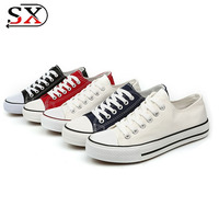 China Factory Low Price Men Vulcanized Shoes Casual Shoes Canvas Hot Sale Cheapest High Quality Men Vulcanized Shoes