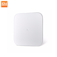 In Stock 2017 Original Xiaomi Scale Mi Smart Weighing Scale Support Android 4.4 iOS Bluetooth4.0 Toughened Glass Digital