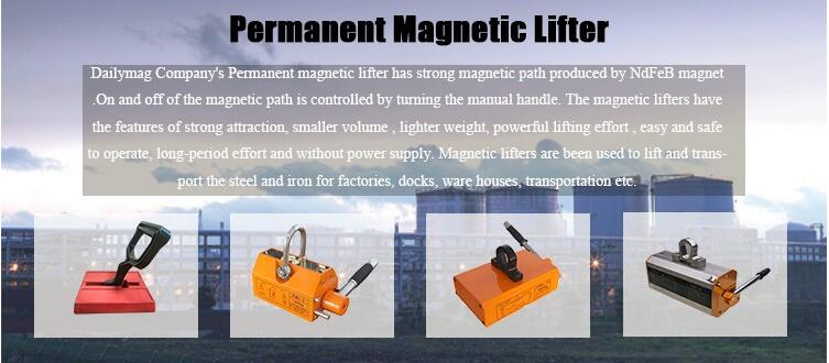 Universal Permanent Magnetic Lifters for Holding Steel Plate