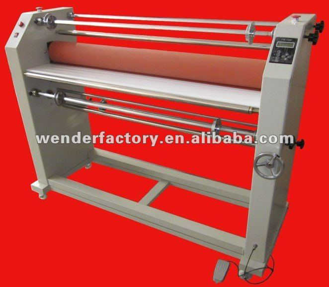 FM-1300L Hot & Cold Roll Laminator paper roll laminating machine