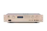 high end 350W 8ohms 2 channel Class D digital power amplifier with DSP