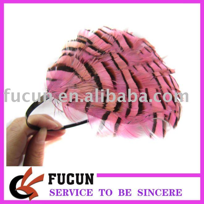 Fashion Feather Hair Accessories