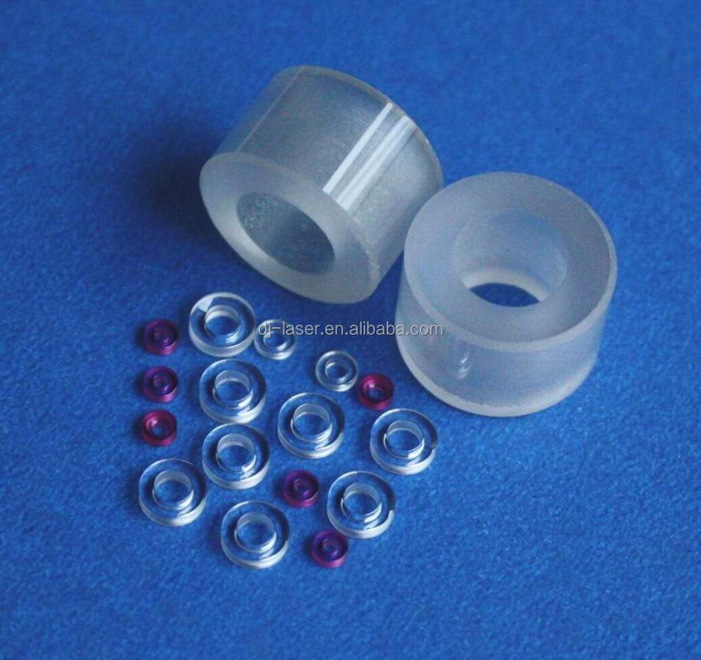 ODM optical grade glass sapphire crystal tube pipe lenses