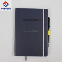 high quality leather travel journal and pen