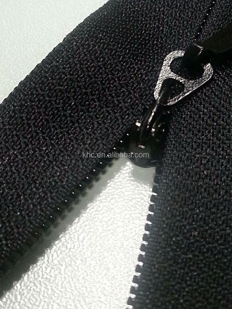 invisible zipper normal bottom stop (nylon zipper, fancy, waterpoof zipper)