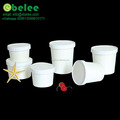 custom printed paper soup cup with lid