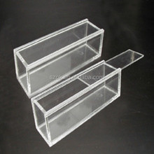 hot sale high clear acrylic reptile cases with slide lid