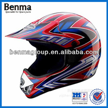 different kind of motocross helmet,motorcycle decal helmet,fashion design for you and many colors