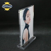 JINBAO Clear Acrylic Block funny love Photo Frame Women Sex Photo Frame