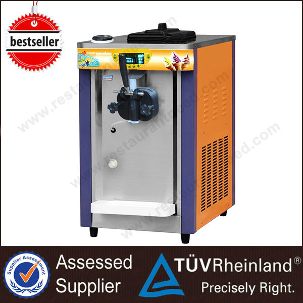 Industrial Three Flavors Portable ice cream machine rental