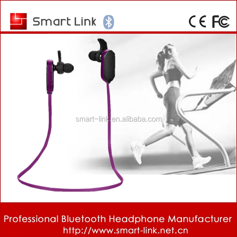 Girl Stylish bluetooth earphone for sports
