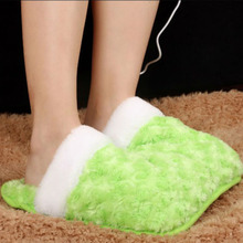 2017 Wholesale Electric Foot Warmer Slippers Usb Heated Foot Wamer