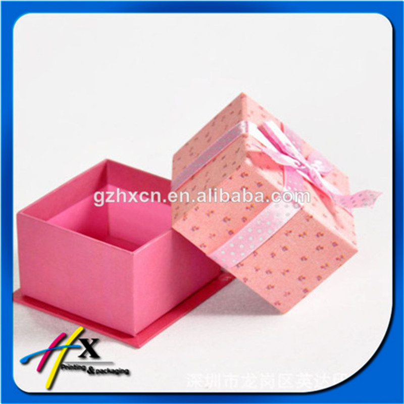 christmas custom printing recycled cardboard carton packaging paper gift box wholesale