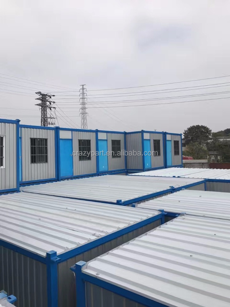 construction site prefab house container home container house construction site office Prefab Portable Modular House