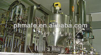 Automatic blowing filling sealing liquid packing machine