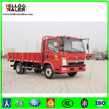 Sinotruk HOWO cargo truck 4*2 6 wheels light truck diesel engine for sale