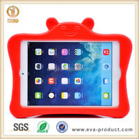 Kids Lovely cartoon design little bear animal shaped EVA foam shockproof case for iPad Mini 1 2 3