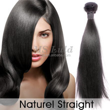 relaxed virgin human hair sales promotion with custom remy straight track hair