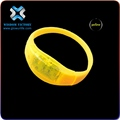 christmas Car Branded Promotional Neon Bracelet,silicon led bracelet