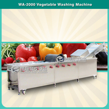 WA-2000 High Pressure Vegetable washer Air Bubble with Water Circle System vegetable fruit Washing Machine