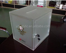 CLEAR acrylic display BOX / CUBE / Tray Plinth Perspex Retail Display NEW from China low price