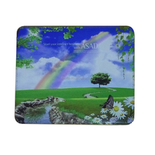 Manufacturers selling computer accessories Blank Sublimation mouse pad Cross grain base Microfiber material Mouse pad