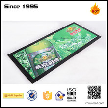 factory supply custom printed personalized promotional bar mat wholesale
