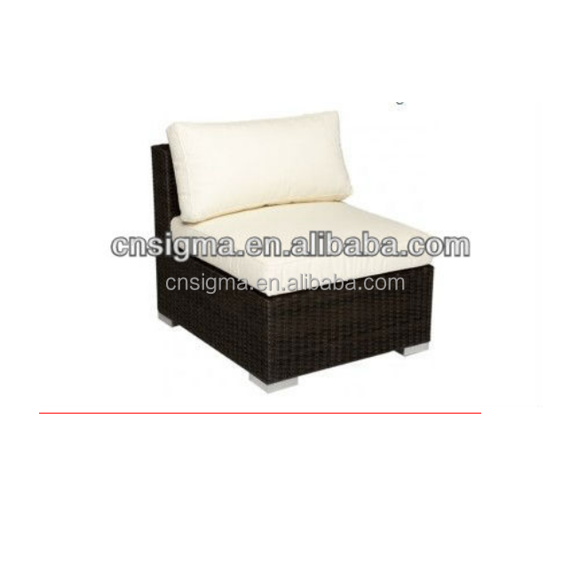 2017 New Design outdoor rattan modern pe rattan sofa