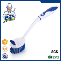 Mr. SIGA plastic long handle kitchen cleaning dish washing brush