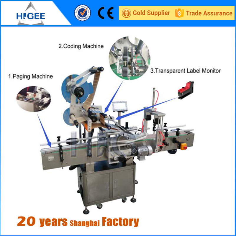 hot sale high speed glue plane automatic labeling machine