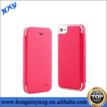 Fancy Cheap official flip leather case for Iphone 5C