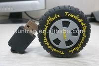 PVC Tire shape usb flash drive professional USB manufacturer OEM/ODM high quality flash drive