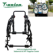 3-Bike Rack Trunk Mount Bicycle Carrier for most Sedans / Hatchbacks / Minivans and SUVs