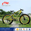 "26"" Fat tire mountain bike carbon steel beach cruiser bike snow bicycle/24 speed fat bike"