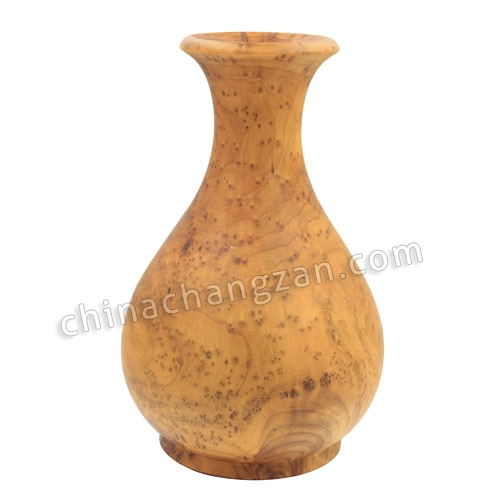 Carved wood carving art Decoration Crafts vase practical rhododendron root home decoration