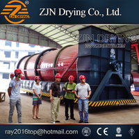 ZJN SS-500 sludge dryer with China Unique Techniques