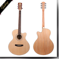 FM-170C 40 inch Spruce Akathis handmade high quality acoustic guitars