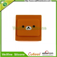 Against electric shock silicone switch cover push button covers /silicone cool light switch covers
