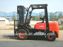 2.5 Tons Electric Forklift, 4.5m Mast, Side Shifter