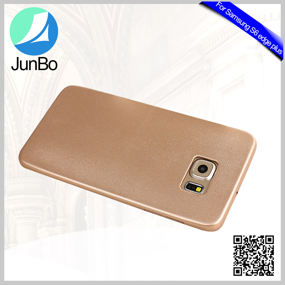 China Supplier Cellphone Accessories PU Leather Case for Samsung S6 Edge Plus