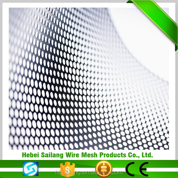 2016 Best selling items gutter leaf guards perforated metal mesh