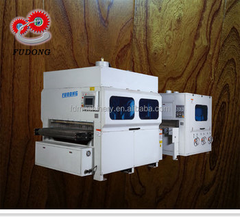 High efficiency sanding machine for wood floor