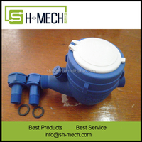 1/2 inch- 2 inch residential ultrasonic transducer water flow meter