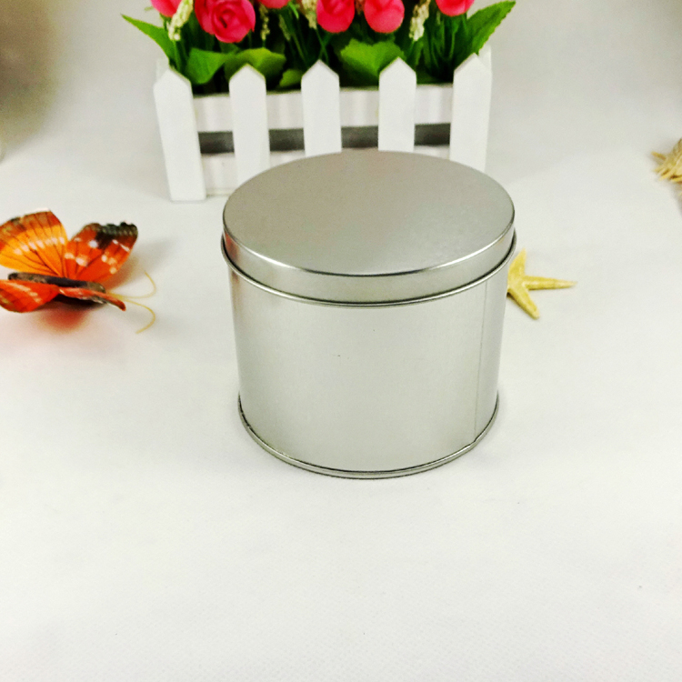 Custom printing small round metal tin can for chocolate