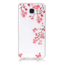 Alibaba Transparent Mobile Phone Cover, IMD Design Soft TPU Case For Samsung A310
