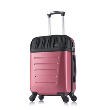 abs colourful travel trolley luggage bag/sky travel luggage bag/hard shell suitcase