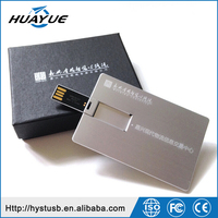 China gift items Custom usb pen drive promotional usb with logo metal card memory stick 4gb 8gb usb flash drive