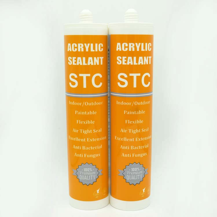 Paintable acrylic sealant for building