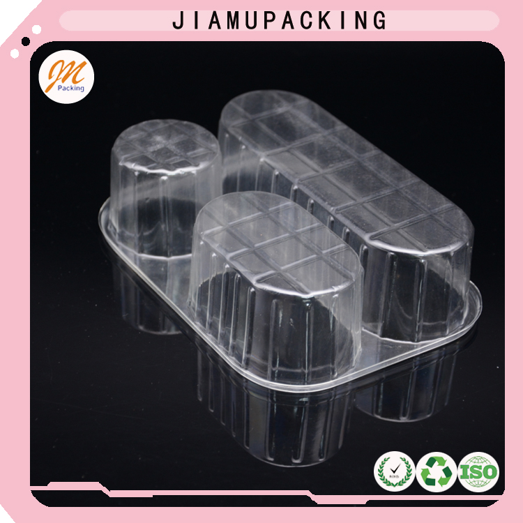 High quality transparent clear plastic blister fruit tray