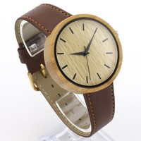 unique fashion elegance 3 atm water resistant watch wood watches ladies women watch with your logo